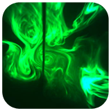 Rotating Turbulence - Fluorescine